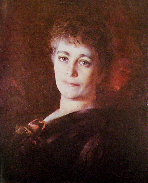 DÉCIO RODRIGUES VILLARES, Retrato de senhora, 1889, mnba