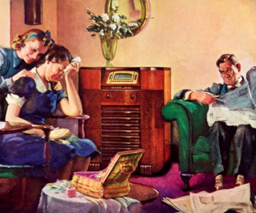 dont-cry-mother-its-only-a-programHarry Anderson (1906 – 1996)