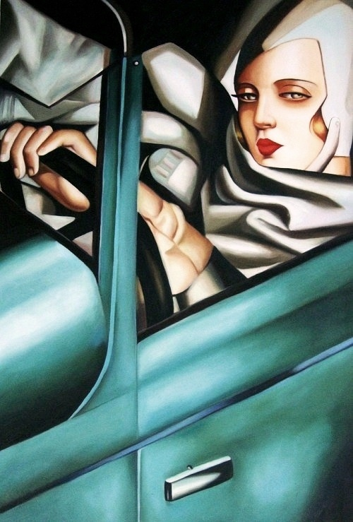 Tamara de Lempicka's 'Tamara in the Green Bugatti'