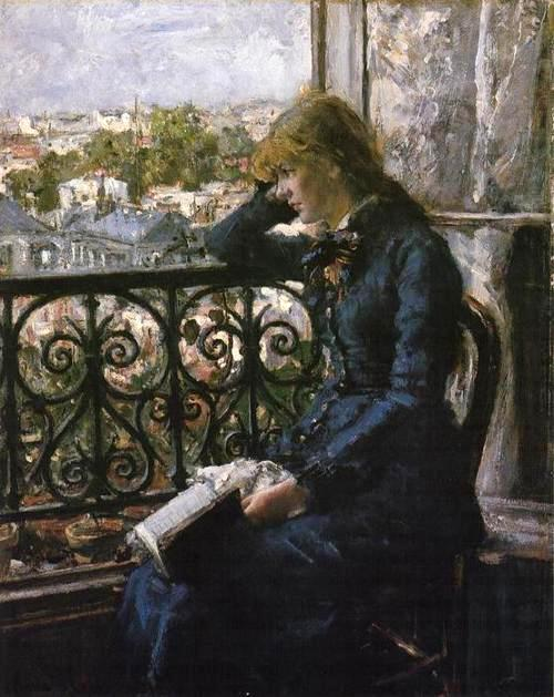 At the Window. 1881 Hans Olaf Heyerdahl. Swedish, (1857-1913)