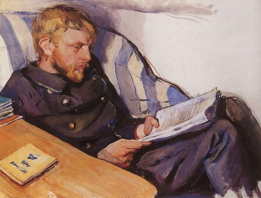 Boris Serebriakov by Zinaida Serebriakova (1908)