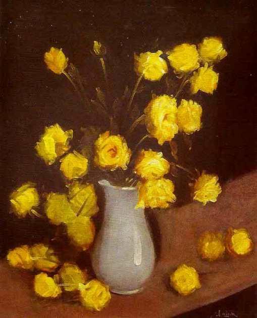 Eugenio Latour Ano (Brasil, 1874-1942) Flores