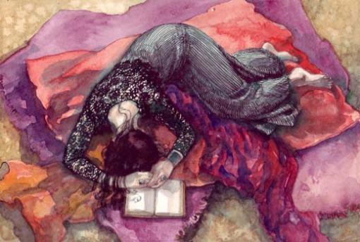 Gabriella Piccatto. aquarela, 30 x 40