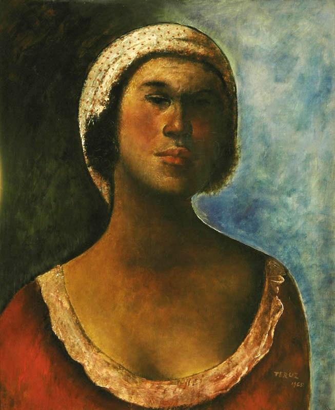 Orlando Teruz, Mulata, ost, 1965, 75 x 60 cm
