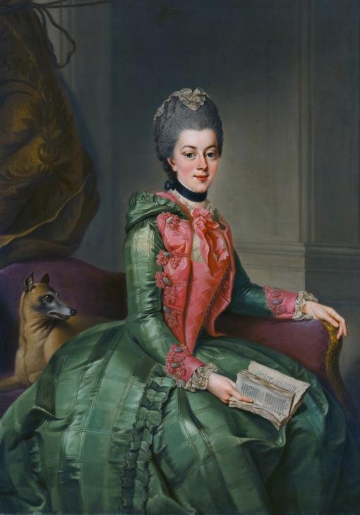 Frederika Sophia Wilhelmina, by Johann Georg Ziesenis