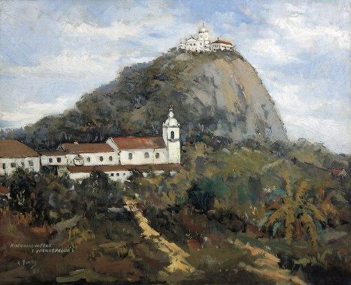 Sylvio Pinto, Nossa Sra. da Penna – Jacarepaguá, 1953,ost, 60x73