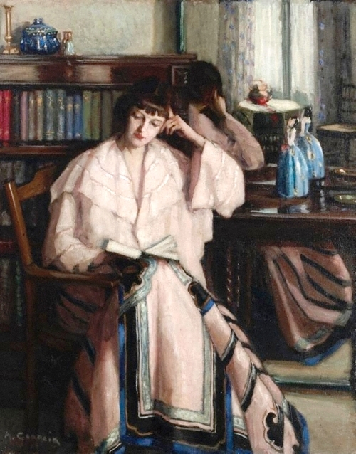 Agnes Goodsir (Australia1864-1939) ~ A saia chinesa, 1933