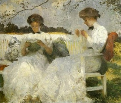Afternoon_in_September_oil_1913_Frank_Weston_Benson