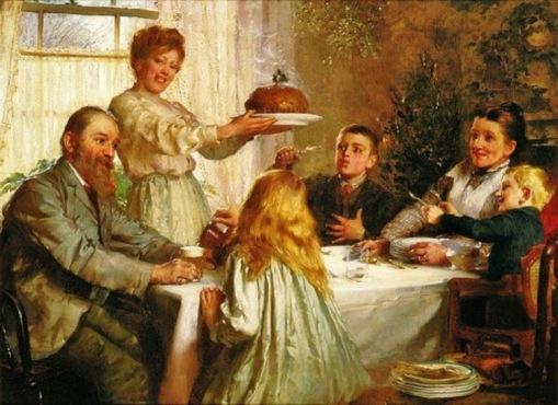 Joseph Clark (British artist, 1834-1926) A Christmas Dole 1800s