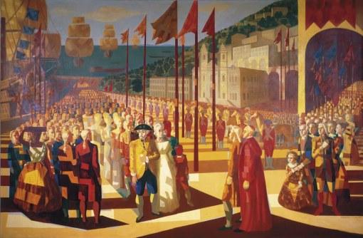 PORTINARI Família real (chegada)2