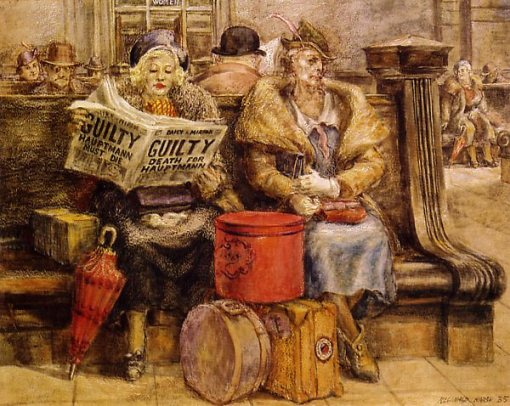 Reginald Marsh (1898 – 1954) haumptmann-must-die
