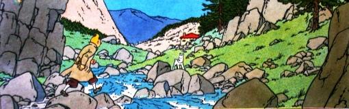 rio pedregoso, hergé