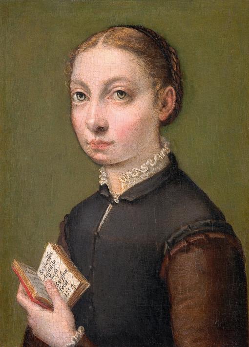 Sofonisba Anguissola, by Sofonisba Anguissola