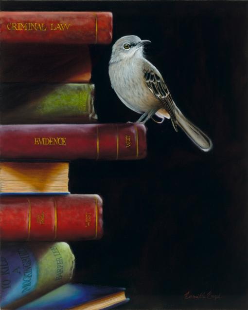 154-To-Kill-A-Mockingbird-Book-Realism-Bird-Painting