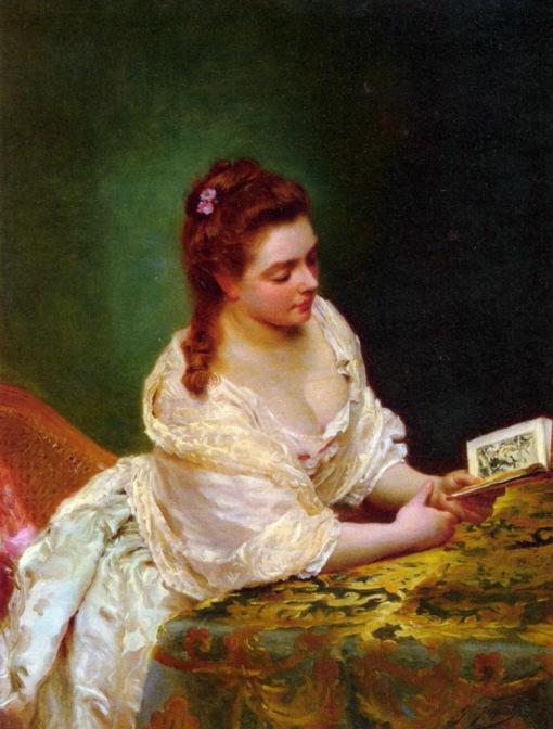 a leitora