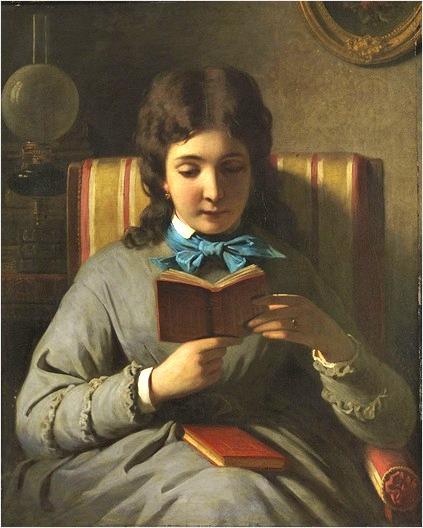ANTON EBERT         lesendes-mdchen-1896-by-anton-ebert-austrian-18451896_thumb