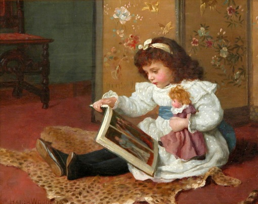 Charles Haigh Wood - Storytime 1893