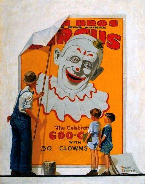 circo chegou, Russell Sambrook (1891 – 1956)