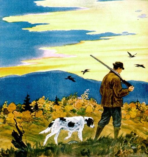 homem com cachorro 1929