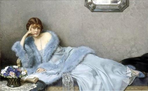 Hubert-Denis Etcheverry - La dame en bleu