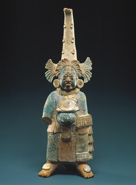 METROPOLITAN, sec viii, figura em ceramica maia,