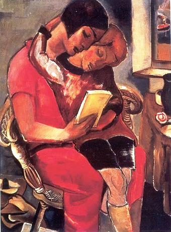 Otto van Rees (1884-1957) De vertelling, 1926