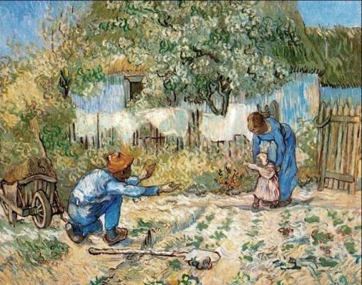 van gogh, les premiers pas, 1890