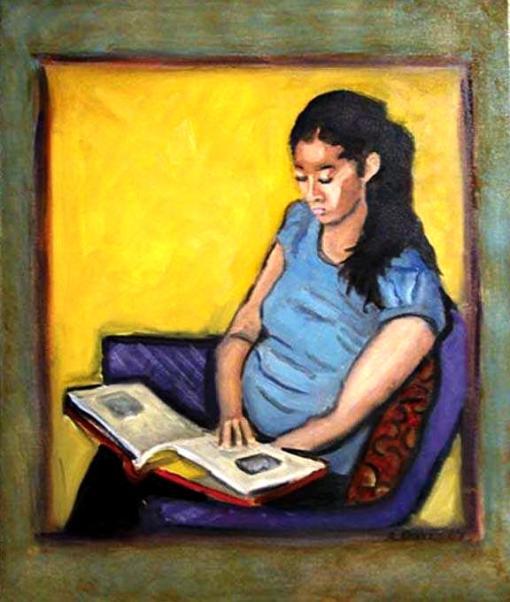 Albie Davis, Jovem lendo, contemporâneo, ost