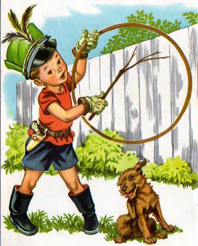 circo, treinando cachorrinho, Corinne Malvern