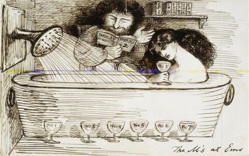 dante gabriel rossetti, museu britânico, desenho a bico de pena