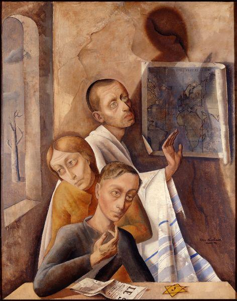Felix Nussbaum, Dreierporträt, 1944
