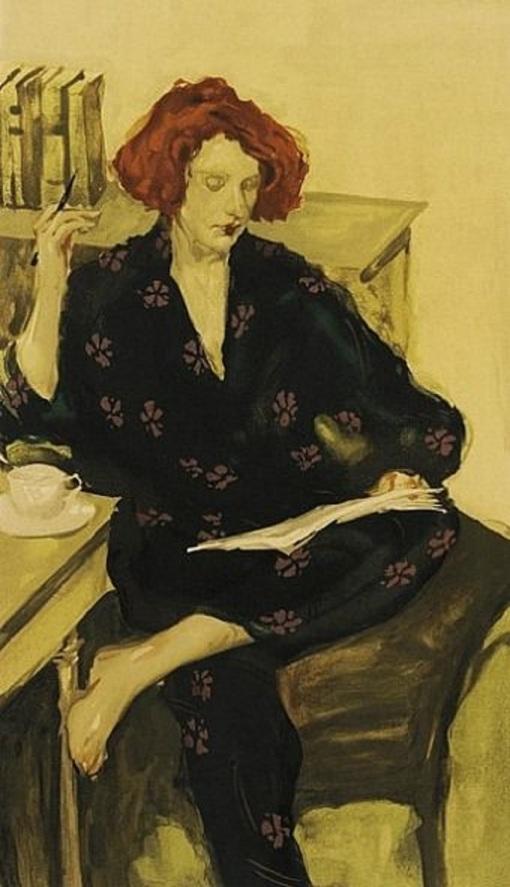 Malcolm T. Liepke (EUA, 1953) Café da manhã, litografia