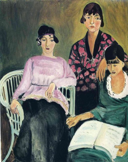 The Three Sisters (1917) Henri Matisse. Musée de l'Orangerie, Paris.