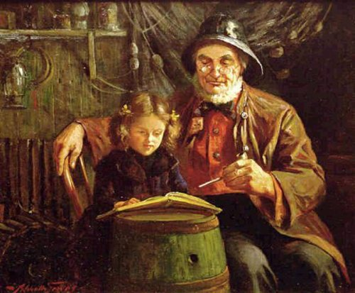 Abbott Fuller Graves (1859 – 1936, American)the-fishermans-lesson