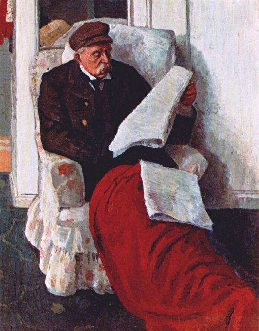 Carrington, Dora (1893-1932) Samuel Carrington, the artists father, 1915