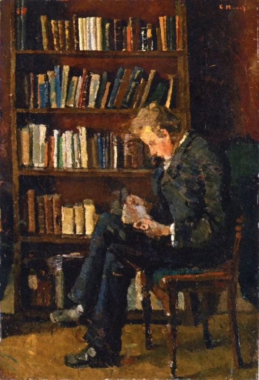 Edvard Munch Andreas Reading, 1882-83, Edvard Munch