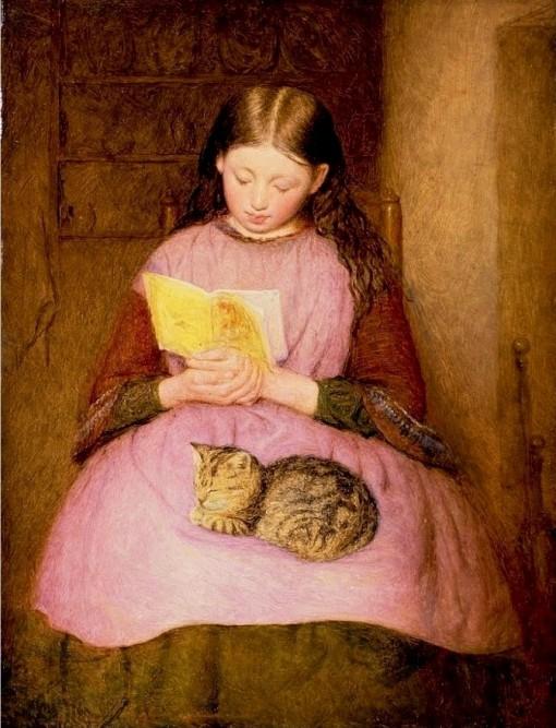 A Quiet Moment, Edward Thompson Davis. English (1833-1867).