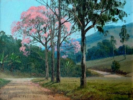 Alexandre Reider - óleo sobre tela - 0,20x0,24 cm