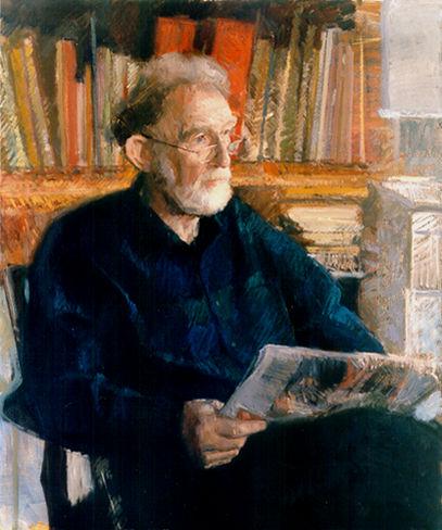 Anthony Morris (Grã-Bretanha, 1938) Retrato de Roger 1999
