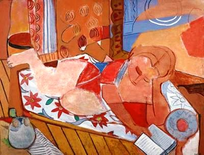 Francisco Bores Lopez (Espanha,1898- França, 1972) A mulher loura,