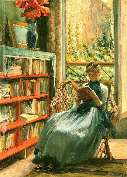 Louise Catherine Breslau (Swiss, 1856-1927). Oil on wood. Schweizerische Eidgenossenschaft, Bundesamt für Kultur, Bern