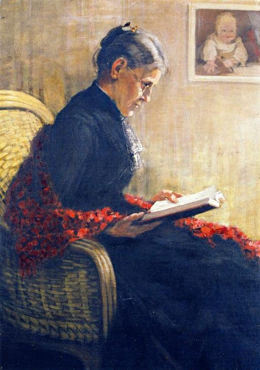 retrato da mãe