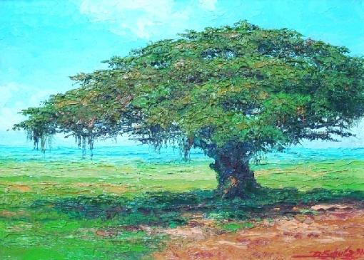 Ricardo Schulz - óleo sobre tela - 35 x 24cm