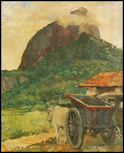 Osir, Paulo Rossi. Paisagem, tela, 1935, Palácio Bandeirantes