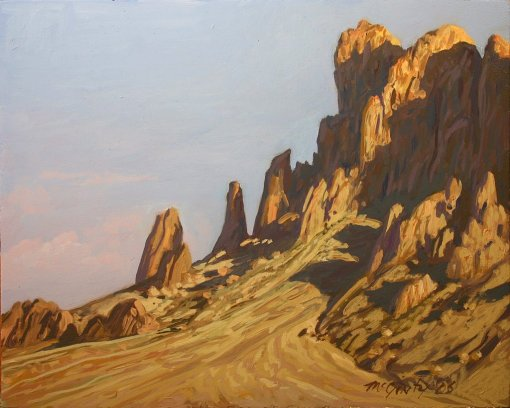 superstition plein air