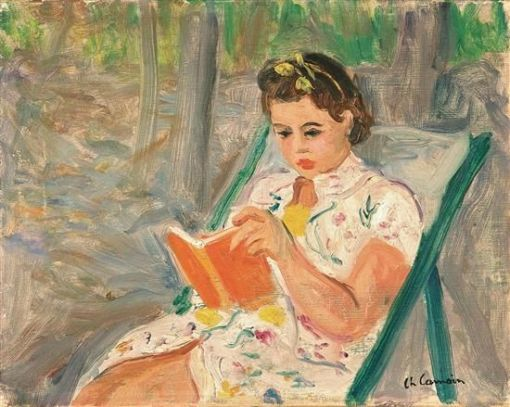 camoin-charles-1879-1965-franc-girl-reading