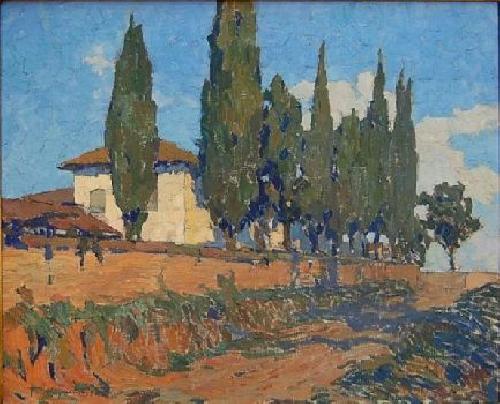 Tulio Mugnaini Convento de Taubaté, 1925. oleo sobre tela, 50,5 X 61,5. PESP