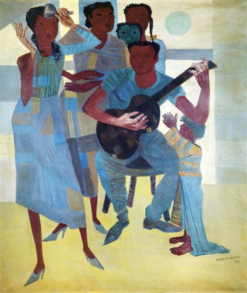 Candido Portinari,Samba,1956,ost,BancoCentraldoBrasil, Brasilia