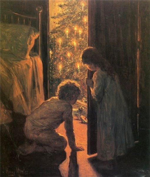 Henry Mosler - Christmas Morning