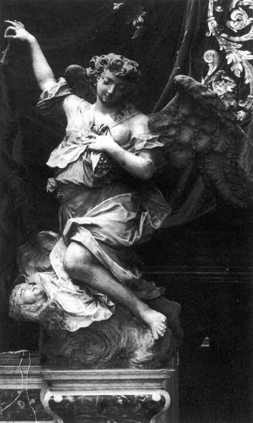 MORLAITER, Giovan Maria,Angel,1750s,Marble,Santa Maria della Consolazione, Venice